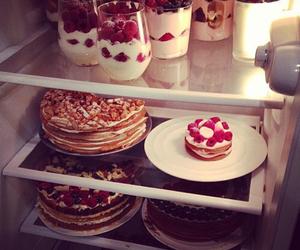 food, cake, and yummy image