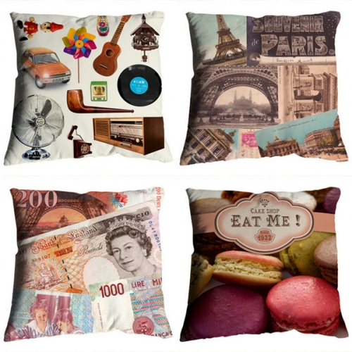 decor, macaron, and pillow image