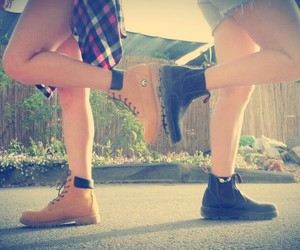 cool, girls, and shoes image