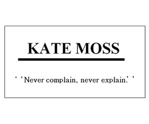 quote, kate moss, and model image