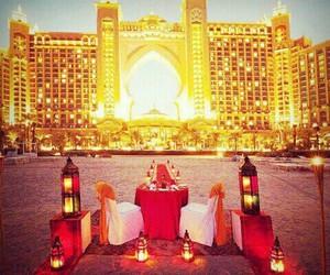 Dubai, emirates, and lights image