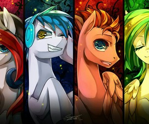 epic, glaze, and MLP image