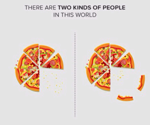 pizza and people image