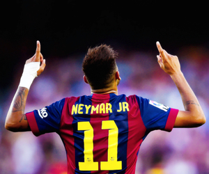 neymar, Barcelona, and football image