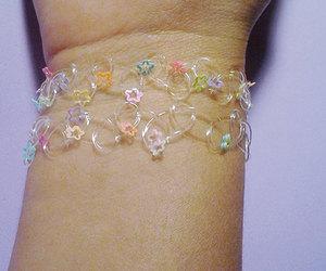 bracelet, kawaii cute, and stars image