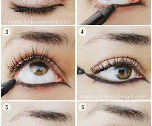 tutorial, eyes, and make up image