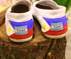 Philippines, shoes, and toms image