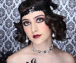 20s, flapper, and hair image