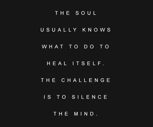 heal, mind, and quote image