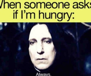 hungry, funny, and always image