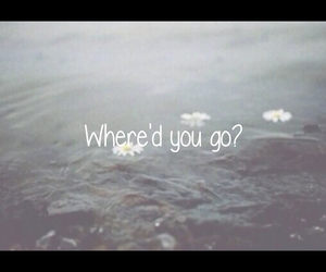carousel, water, and where'd you go? image