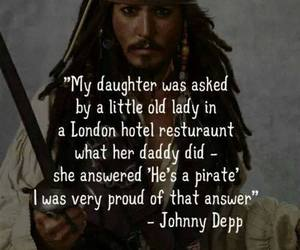 johnny depp, captain jack sparrow, and pirate image