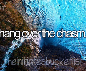 divergent and hang over the chasm image