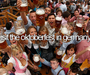 germany, oktoberfest, and wiesn image
