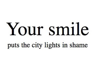 lights, quote, and smile image
