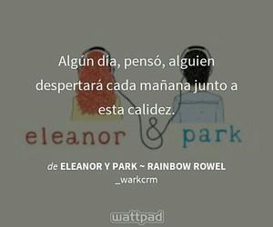 libro, eleanor y park, and wattpad image