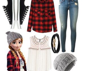 anna, outfit, and Polyvore image