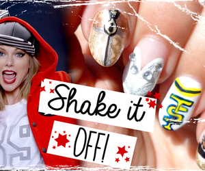 nail art, nails, and Taylor Swift image
