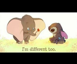 different, disney, and dumbo image