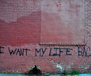 life, quotes, and wall image