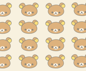 background, bear, and wallpaper image
