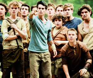 movie, maze runner, and dylan o'brien image