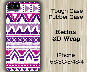 native, purple, and iphone 5 case image