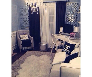 classy, bedroom, and chanel image