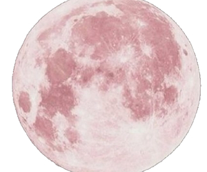 pink, moon, and wallpaper image