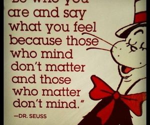 quote, Dr. Seuss, and dr seuss image