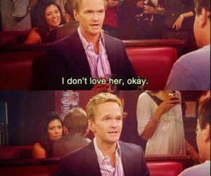 love, how i met your mother, and Barney Stinson image