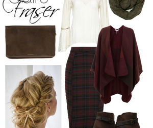 clothes, fashion, and plaid image
