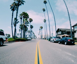 summer, road, and beach image