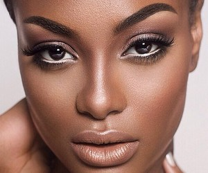 beautiful, african american woman, and black woman image