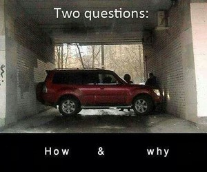 car, funny, and how image