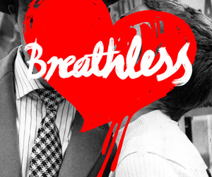 breathless, couple, and cute image