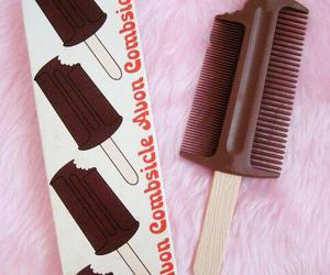 chocolate, comb, and kawaii image