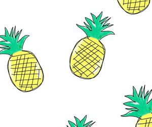 ananas, cute, and iphone image