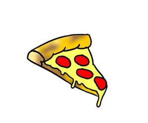 overlay, pizza, and tumblr image
