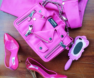 Moschino, pink, and fashion image
