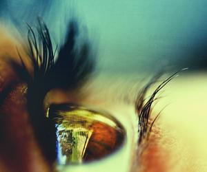 eye, girl, and beautiful image