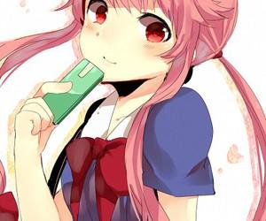 mirai nikki, anime, and yuno gasai image