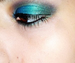 colors, eye, and make up image