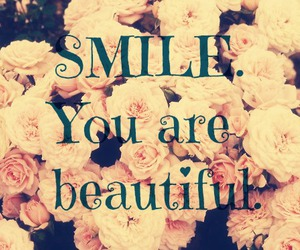 smile, beautiful, and girl image
