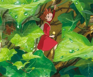 arrietty and ghibli image