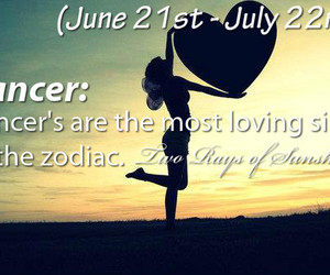 astrology, cancer, and girl image