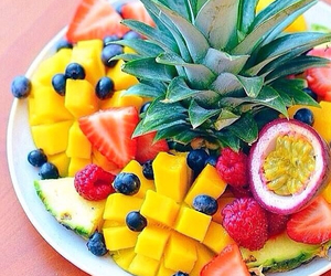 fruit, food, and fit image