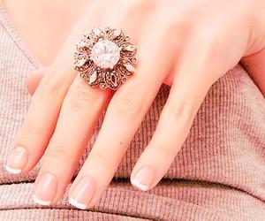 fashion, nails, and pink image