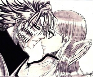 bleach, grimmjow, and Orihime image