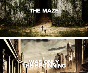 the maze runner, the scorch trials, and maze runner image